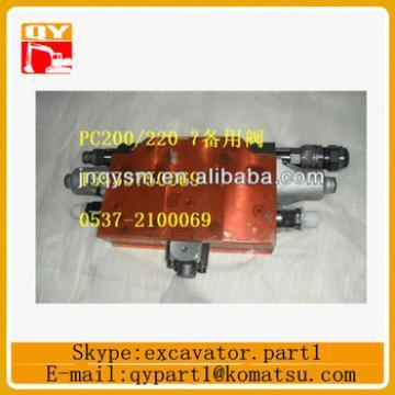 excavator hydraulic valve 723-41-07600