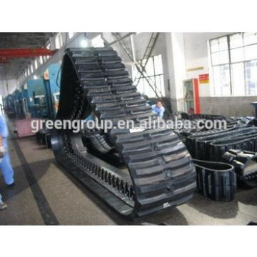 PC27MR-1 excavator 300x55x78 rubber track,Bobcat 331 rubber track