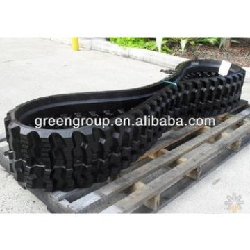 Takeuchi rubber track,for min excavator TB08,TB50,TB65,TB16,TB20,TB25,TB125,TB45,TB145,TB70,TB175,TB60,TB35,TB18,TB40,TB30,TB65,