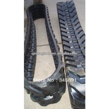 Kobelco SK27 rubber track:kobelco SK25 rubber pad ,SK45,SK85,SK50,SK60,SK35,SK75,SK55,SK80,SK100,SK30,SK20,SK40,SK70,SK65,SK90