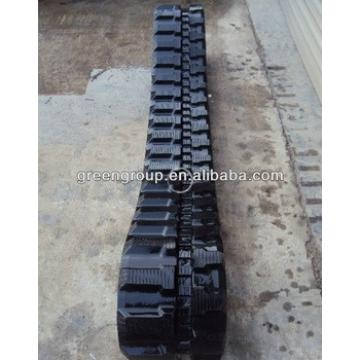 Rubber track for CASE CX55B 8045 KOBELCO SK50 KUBOTA U45-3 TAKEUCHI TB145,DOOSAN EXCAVATOR DX55,DX35,DX60,DX80,DH80,DX130