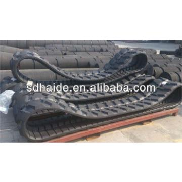 mini excavator rubber track for PC50UU PC30,PC35,PC40,PC50,PC50UU-2,PC50MR-2,PC55