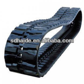 min rubber track for min excavator of EX35,EX55,EX60,SK35,SK50,SK60