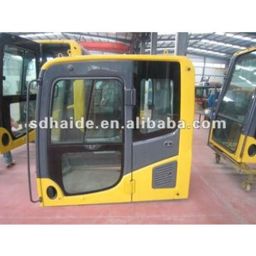 excavator parts cab on hot sale PC 100, heavy equipment cabs PC220