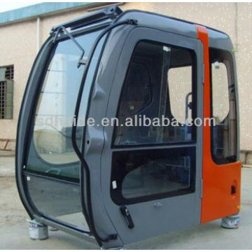 excavator cab PC200, excavator parts cab, heavy equipment cabs