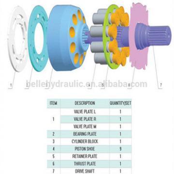Yuken A56 Hydraulic pump spare parts