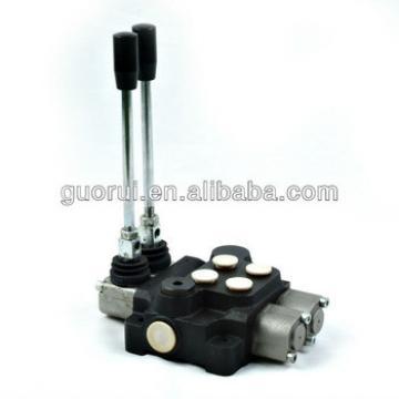 backhoe control valve hydraulic, monoblock valve