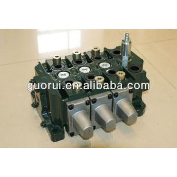 crawler loader hydraulic control valves, sectional valves