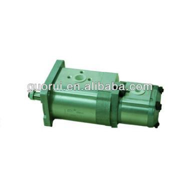 High Pressure double gear pump 3DPF**/** DL24H12* (double flow pump)