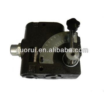 Hydraulic directional valve, flow control valve