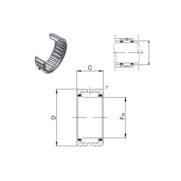RNA 4907 JNS Needle Roller Bearings