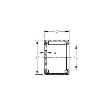M-30161 Timken Needle Roller Bearings
