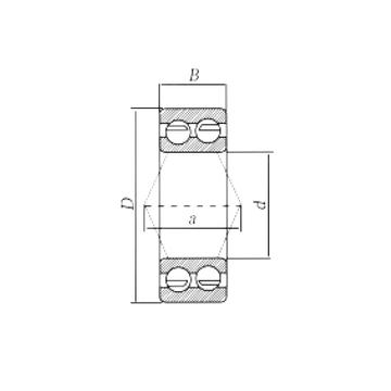 3306ZZ CRAFT Angular Contact Ball Bearings