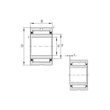 NKI12/16-XL INA Needle Roller Bearings