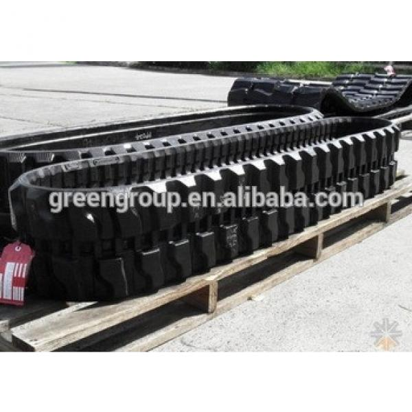 PC27MR-1 excavator rubber track 300x55x78,Bobcat 331 rubber track
