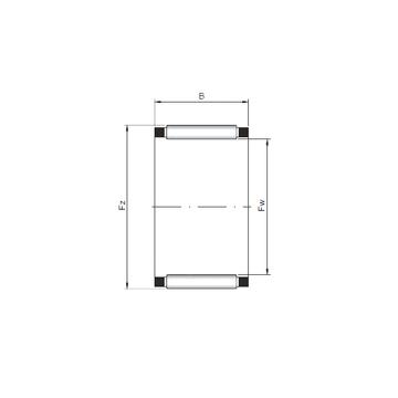 K14x17x17 ISO Needle Roller Bearings