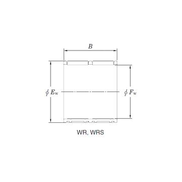 WR24/34 KOYO Needle Roller Bearings
