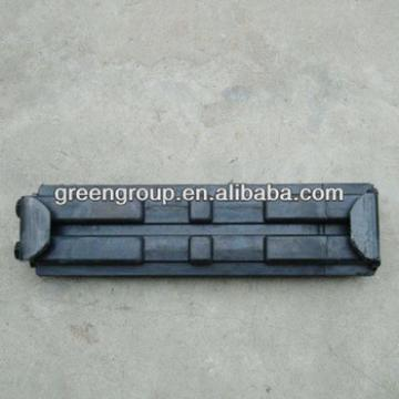 CLIP ON RUBBER TRACK PAD,EXCAVATOR RUBBER 600mm,450mm,400mm,Doosan,Daewoo,Hyundai,Kobelco,Volvo,Sumitomo,Kubota,samsung,