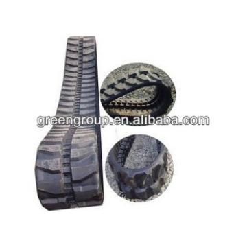 Kobelco SK75 rubber track:SK25,SK45,SK85,SK50,SK60,SK20,SK35,SK55,SK80,SK30,SK27,SK40,SK70,SK55,rubber track link pads