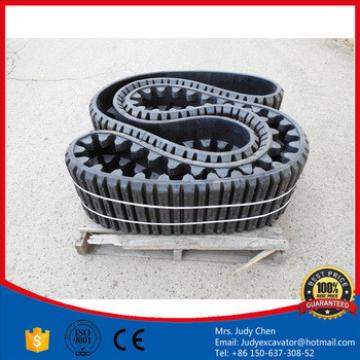 High Quality vio45 rubber tracks size 350x75.5x74 VIO27 VIO20 mini excavator rubber track 400x72.5x72