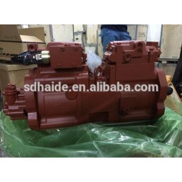 JS160W main hydraulic pump,Kawasaki K3V63DT pump for JS160W,JS175W,JS130,JS140 excavator