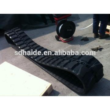 PC07 rubber track,mini rubber track for kobelco/doosan/daewoo/kato