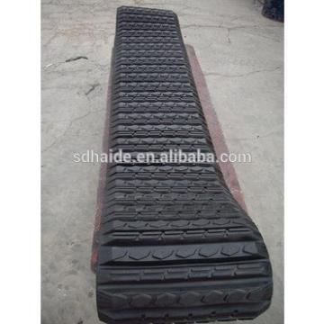 PC09 rubber track,mini excavator PC09 rubber crawler/rubber belt