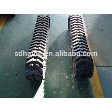 230x96x35 rubber track,excavator undercarriage parts rubber track for ZX17