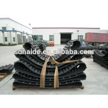 ZX22u-2 rubber track,ZX22U excavator rubber crawler track 250x52.5x77
