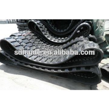 ZX18/ZX18YLR rubber track,excavator rubber track 230x96x33