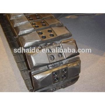 rubber belt track for zx40,rubber pad/rubber track for zx40/zx50/zx70/zx80