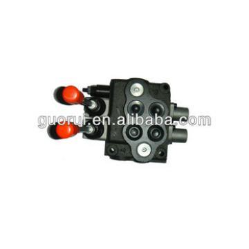 Mobile valves, monoblock valve