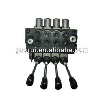Back loader hydraulic control valves, hydraulic control valve