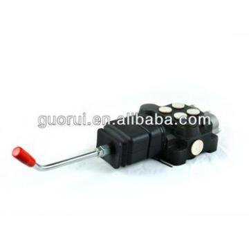 spool type valve, excavator hydraulic control valve