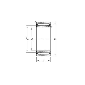 NKJ20/16 Timken Needle Roller Bearings