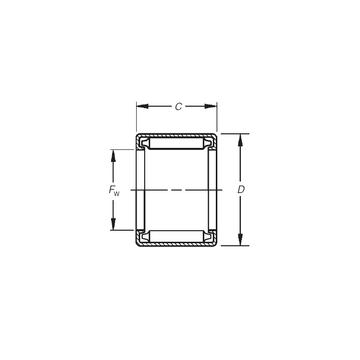 BH-3312 Timken Needle Roller Bearings