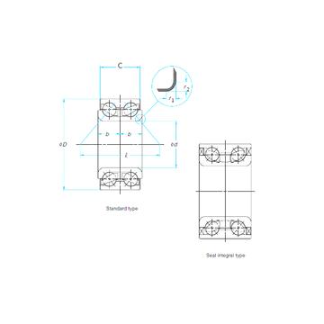 SA1030 FAG Angular Contact Ball Bearings