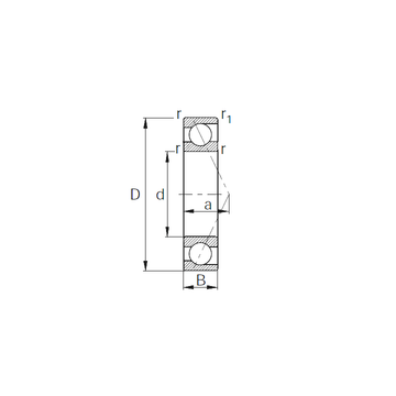 7305 CYSD Angular Contact Ball Bearings
