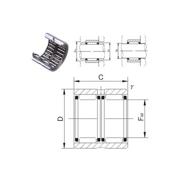 RNAFW142220 JNS Needle Roller Bearings